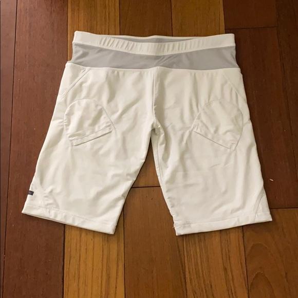 Adidas by Stella McCartney Pants - White tennis/exercise shorts Stella McCartney